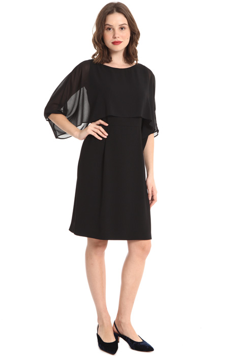 Dress with sheer bodice Intrend