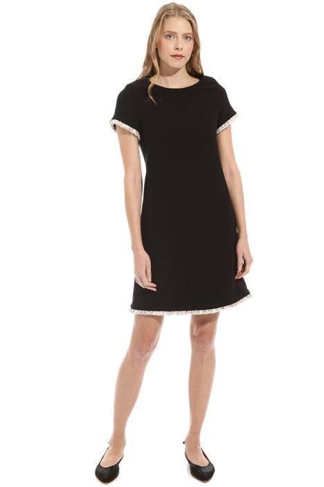 Bouclé cotton dress Intrend