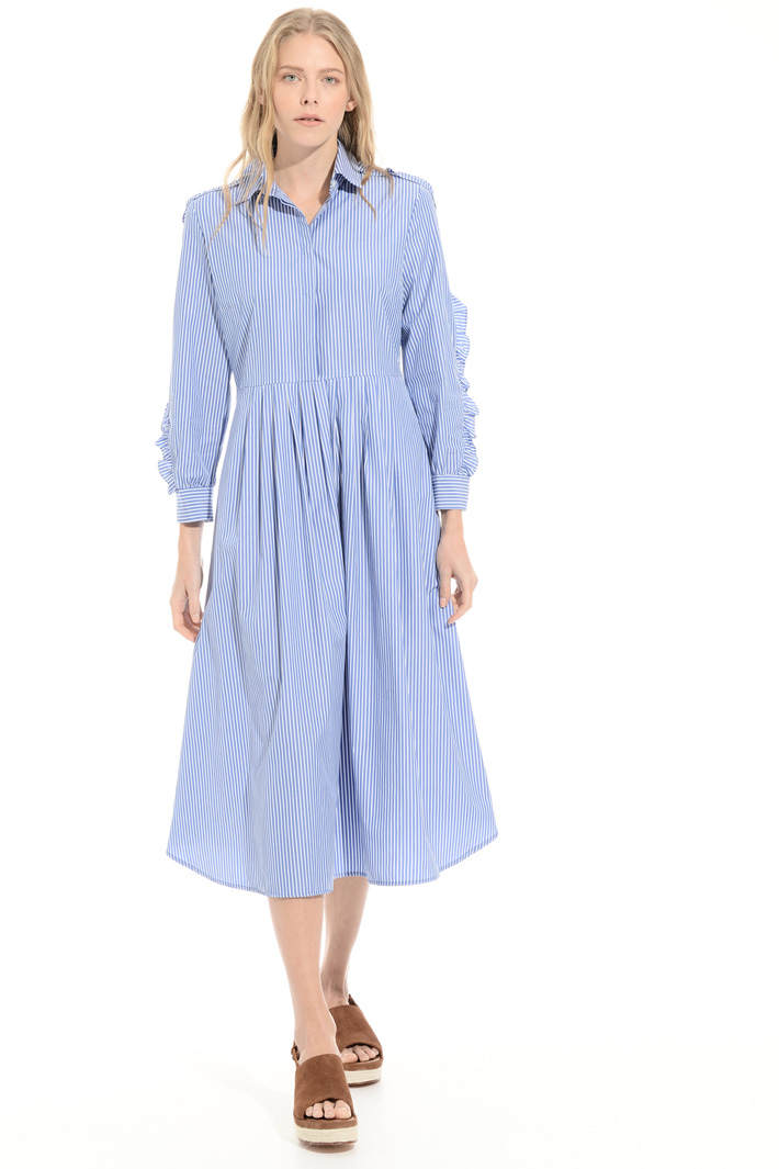 Pure cotton chemisier dress Intrend