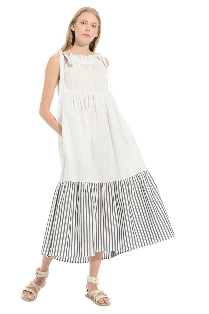 Flounced cotton dress Intrend
