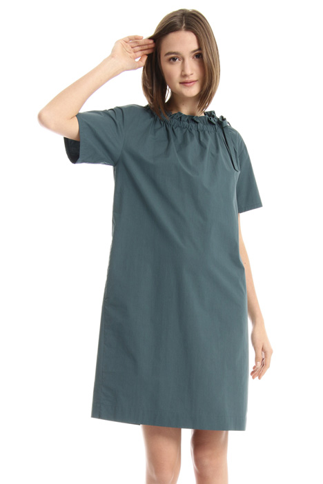 Boxy fit cotton dress Intrend
