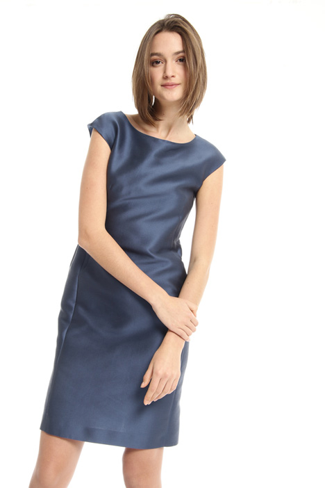 Double satin cotton dress Intrend