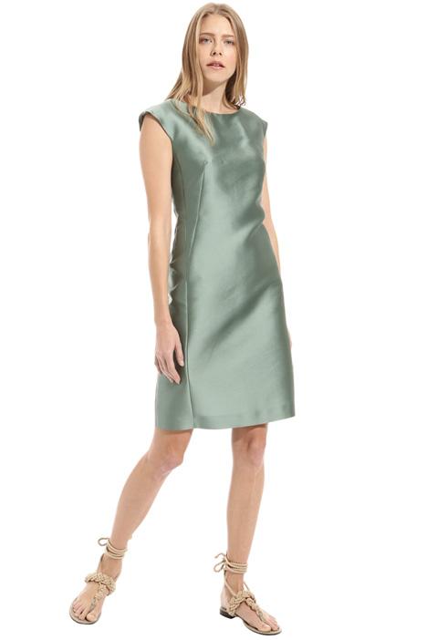 Double satin cotton dress Intrend