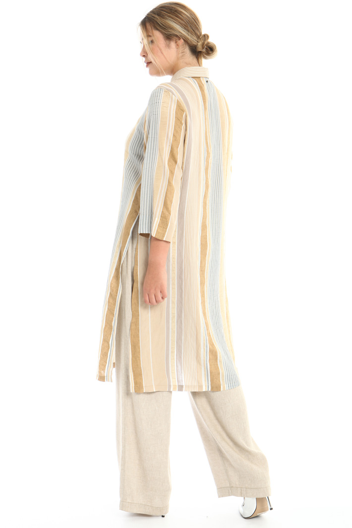 Cotton blend tunic Intrend
