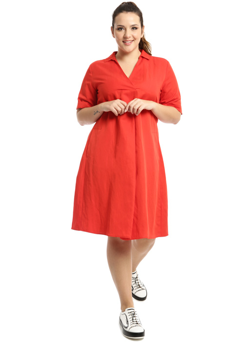 Tencel linen dress Intrend