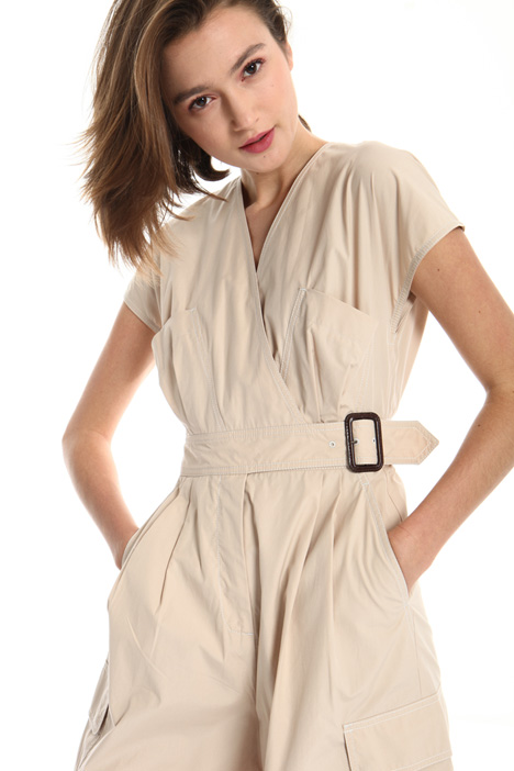 Multiple-Pocket jumpsuit Intrend