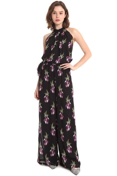 Printed georgette jumpsuit Intrend