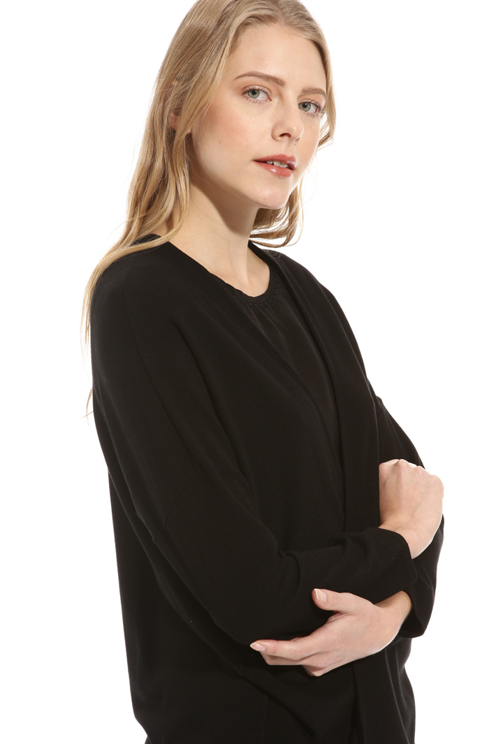 Open front viscose cardigan Intrend