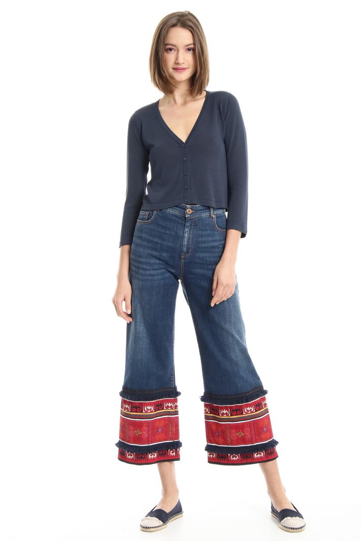 Viscose yarn cardigan Intrend