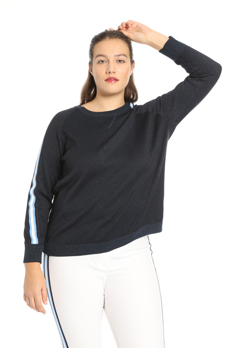 Cotton lurex sweater Intrend