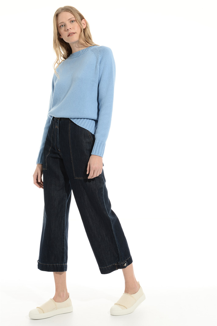 Cotton and cashmere sweater Intrend