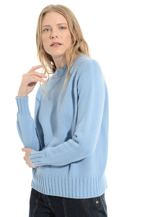 32 34 36 38 MAGLIA Cardigan maglia giacca con ricamo in rosa antico rosa tg