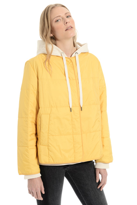 Puffer jacket with press studs Intrend
