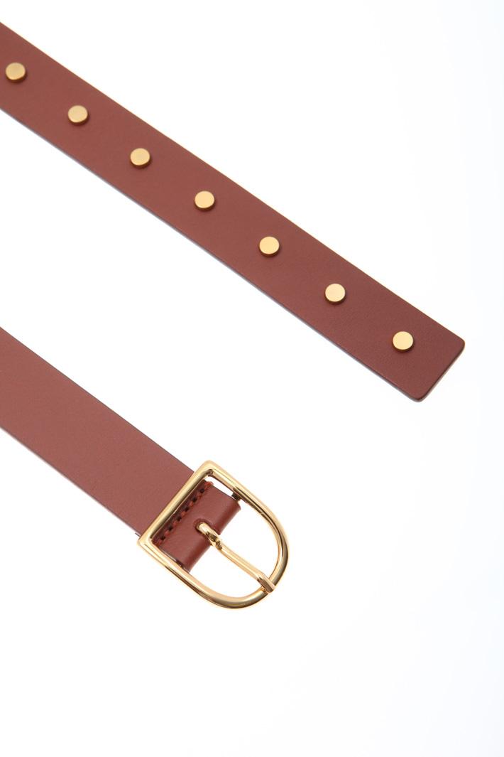 Studded belt Intrend