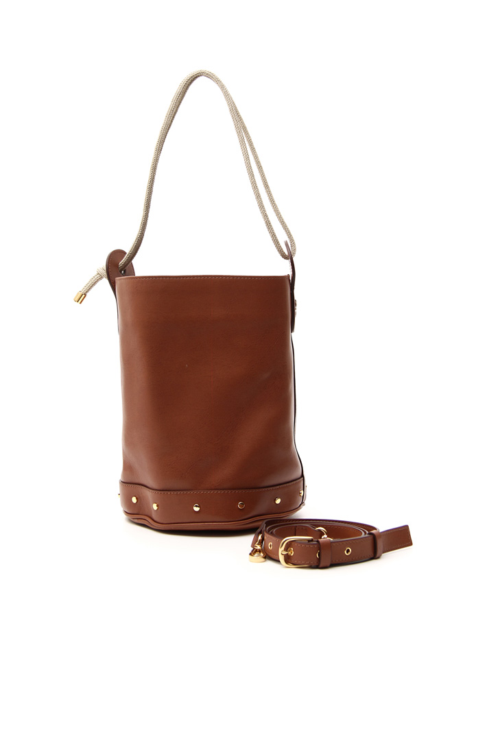 Genuine leather bucket bag Intrend