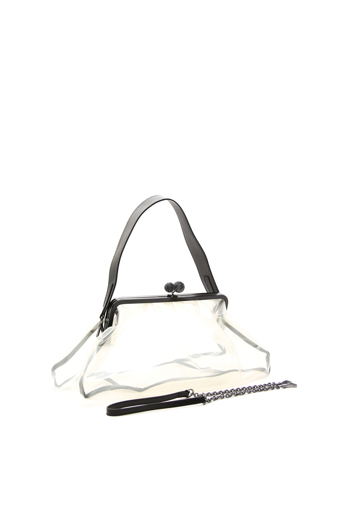 See-through clutch bag Intrend