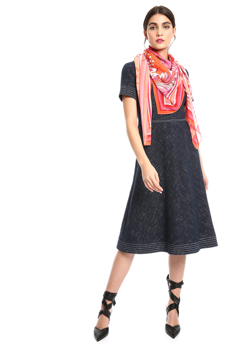 Printed georgette scarf Intrend