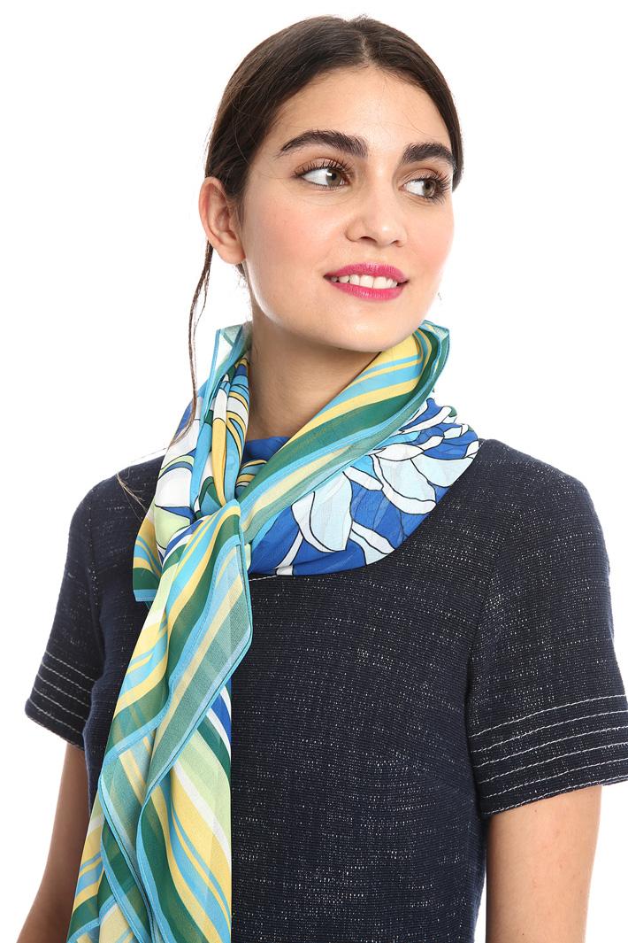 Printed georgette scarf Intrend
