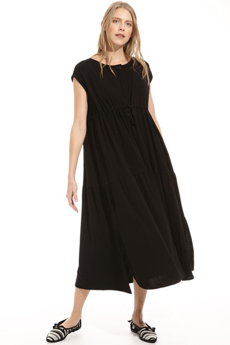 Loose fit cotton jersey dress Intrend