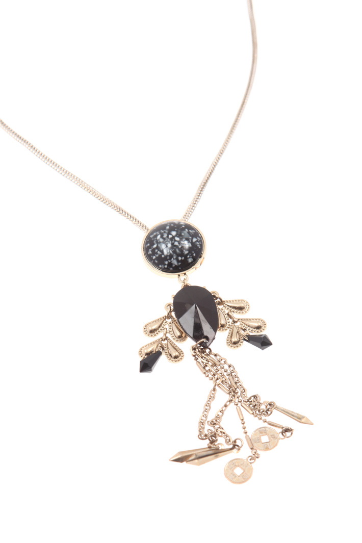 Necklace with brooch pendant   Intrend