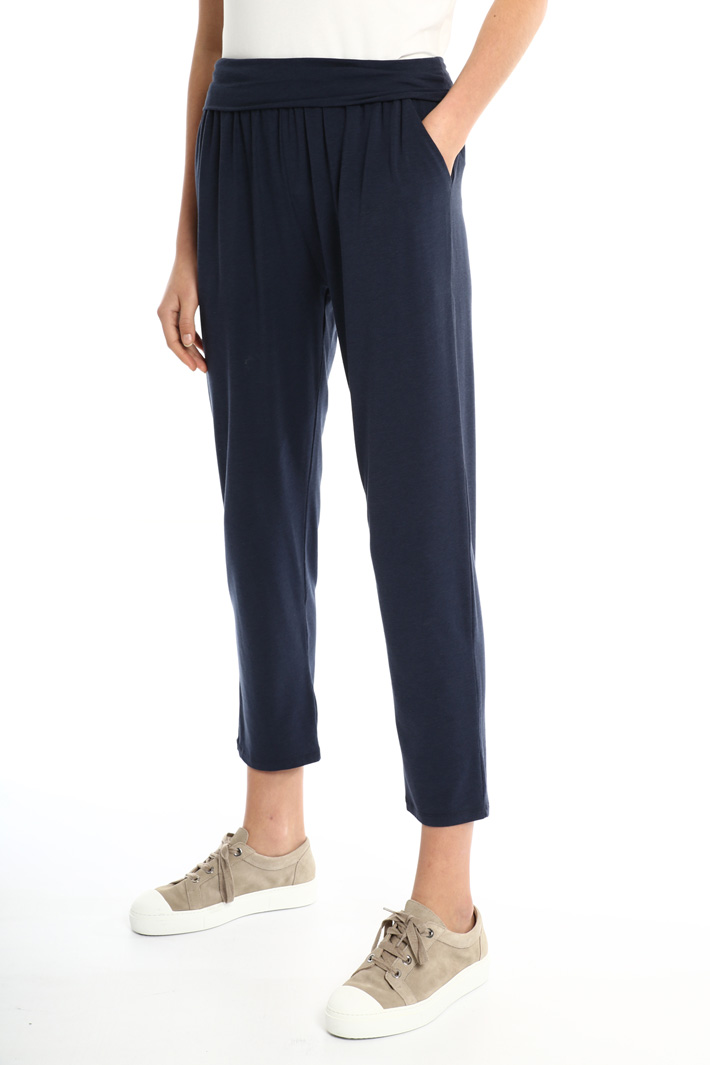 Soft jersey trousers Intrend