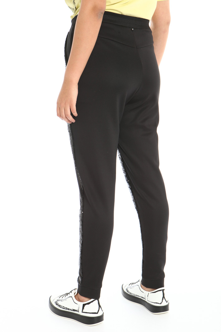 Technical jersey trousers Intrend