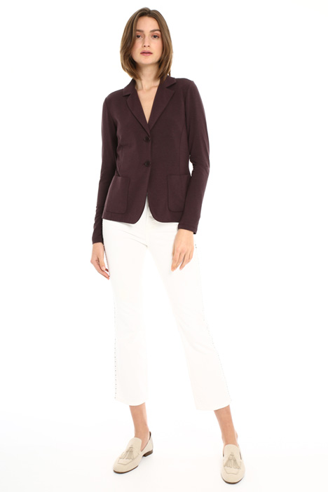 Cotton jersey blazer Intrend