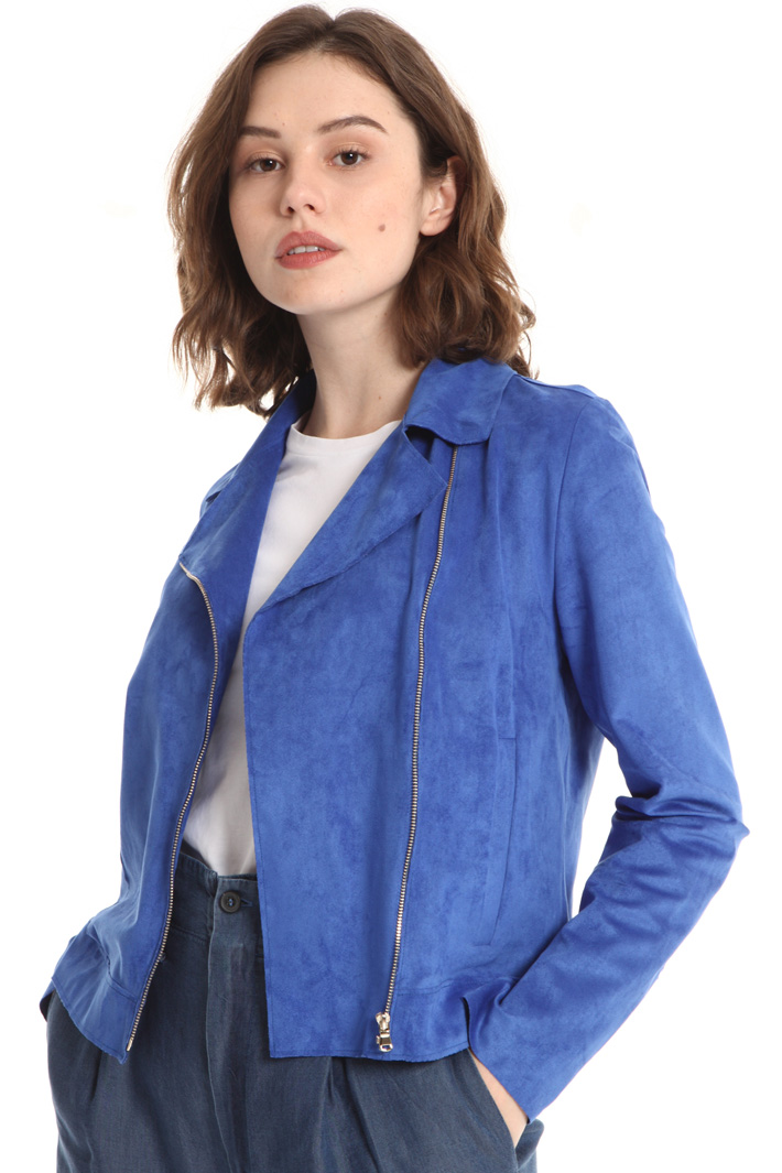 Suede effect jacket Intrend