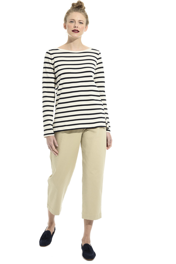 Striped cotton top Intrend