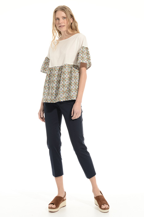 Ruffled T-shirt Intrend