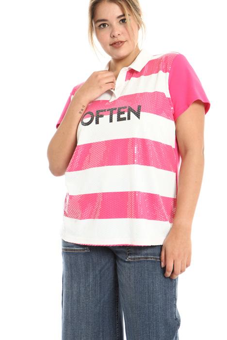 Piqué jersey T-shirt Intrend