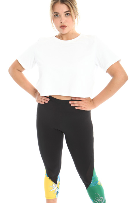 Cropped jersey T-shirt Intrend