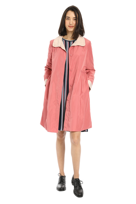 Reversible tech duster coat Intrend