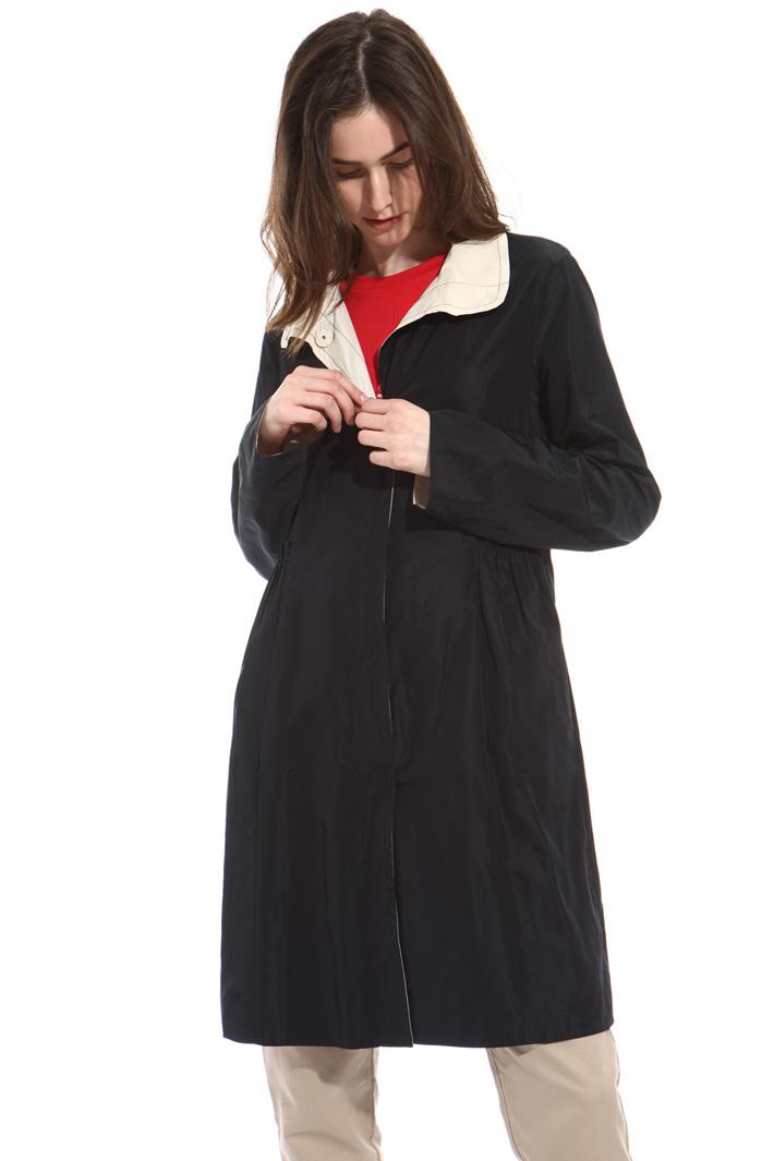 Reversible tech duster coat Intrend
