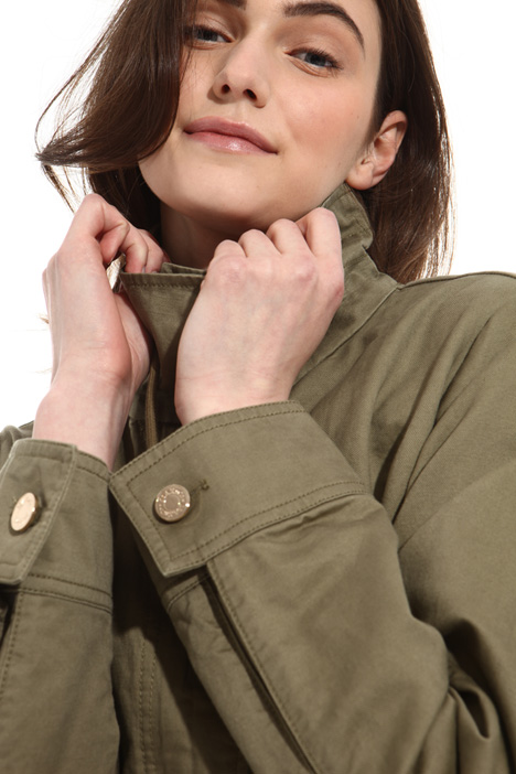 Linen and cotton jacket Intrend