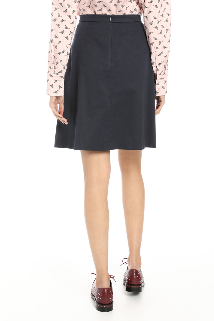 Short pleated skirt Intrend