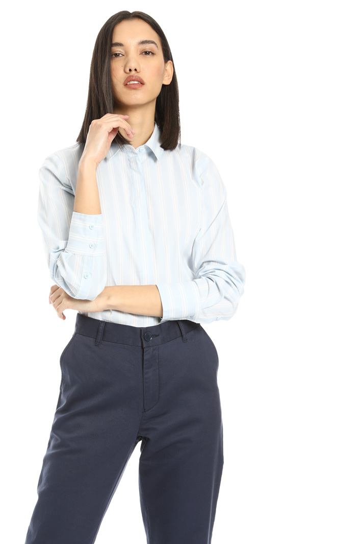 Patterned cotton shirt Intrend
