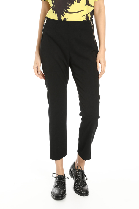 Double zip twill trousers Intrend