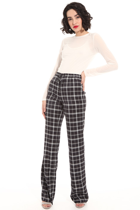 Twill palazzo trousers Intrend