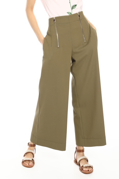 Double zip trousers Intrend
