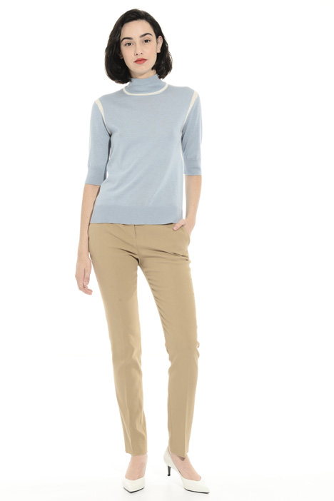 Pure cotton trousers Intrend