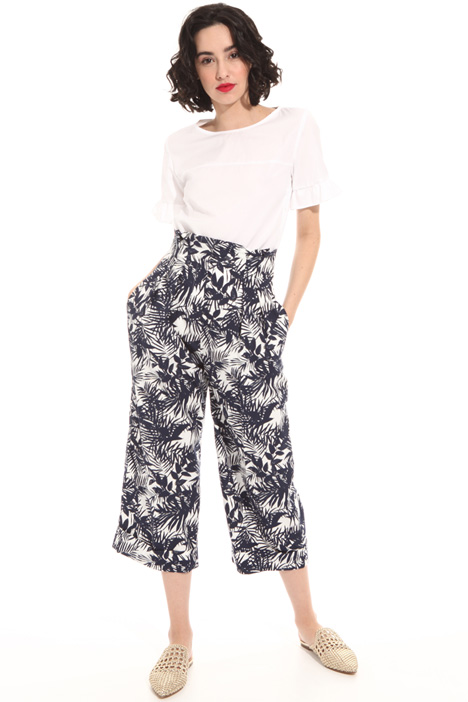Printed palazzo trousers Intrend