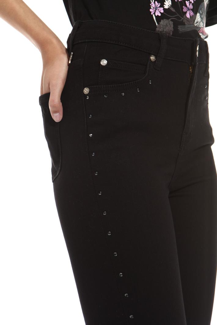Rhinestone jeans Intrend