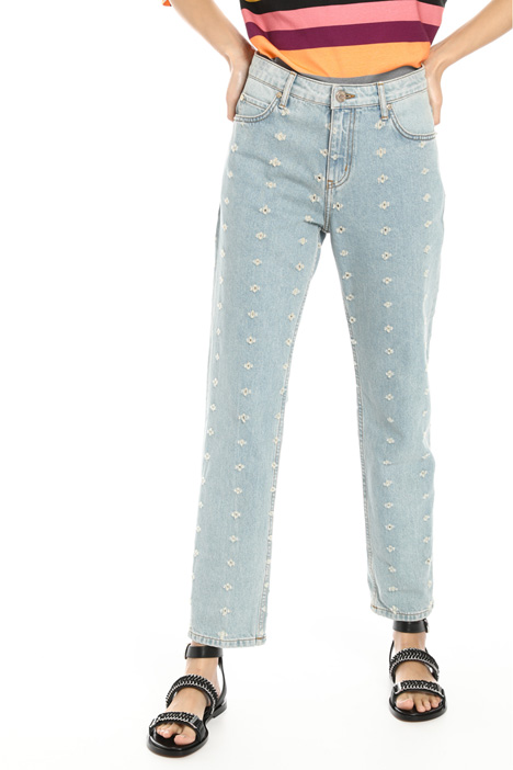 Fil coupé denim trousers Intrend