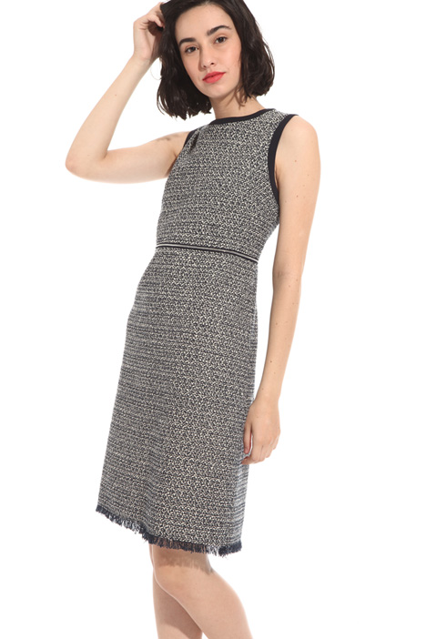Bouclé cotton dress Intrend