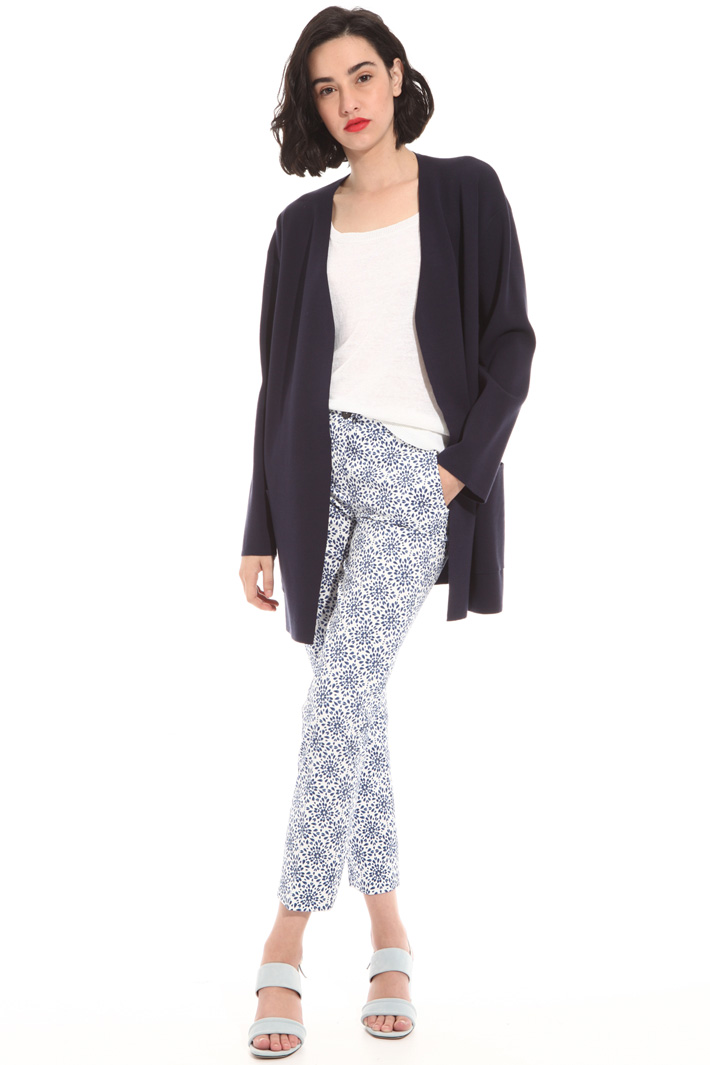 Long knitted cardigan Intrend