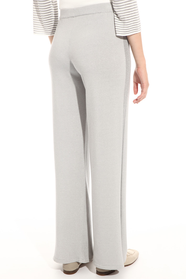 Lurex viscose trousers Intrend