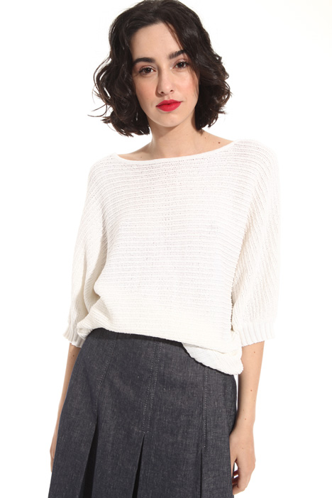 Linen and cotton sweater Intrend