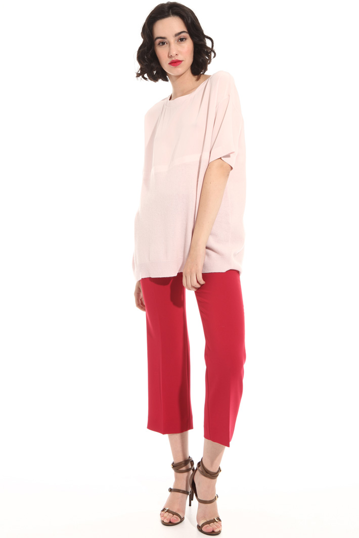 Silk and wool tunic Intrend