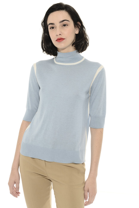 Silk and wool blend sweater Intrend